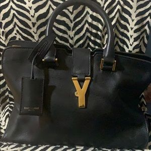YSL Bag genuine leather medium size minus straps